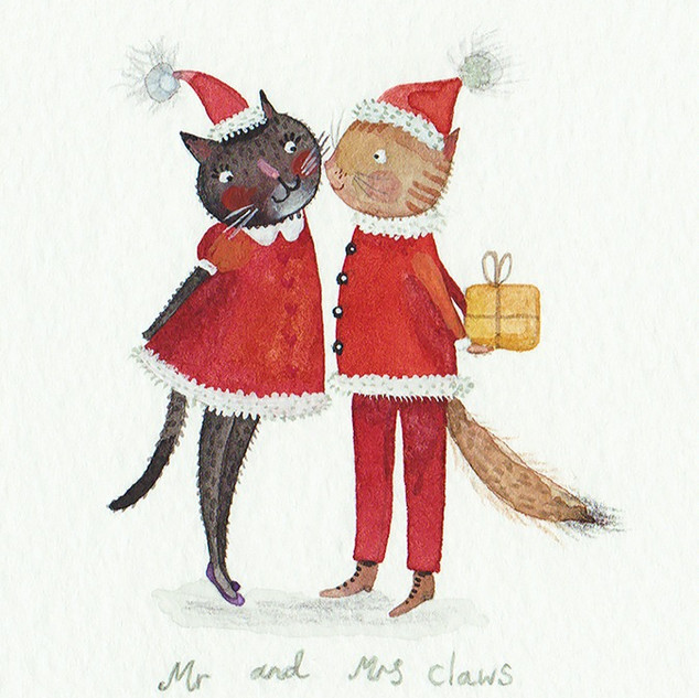 Mr and Mrs Claws
