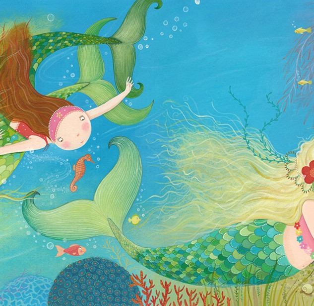 The youngest mermaid was much quieter than her sisters and longed for the world above the waves.