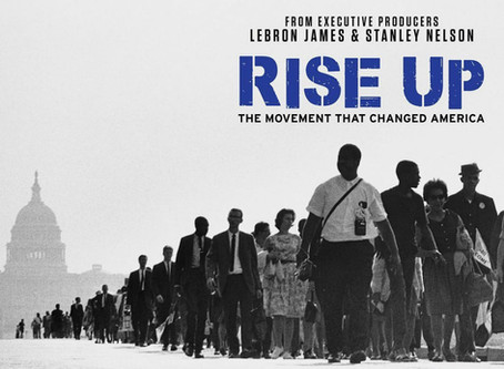 "LEBRON JAMES RELEASES, ""RISE UP"" ON THE HISTORY CHANNEL!"
