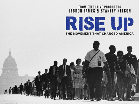 """LEBRON JAMES RELEASES, """"RISE UP"""" ON THE HISTORY CHANNEL!"""