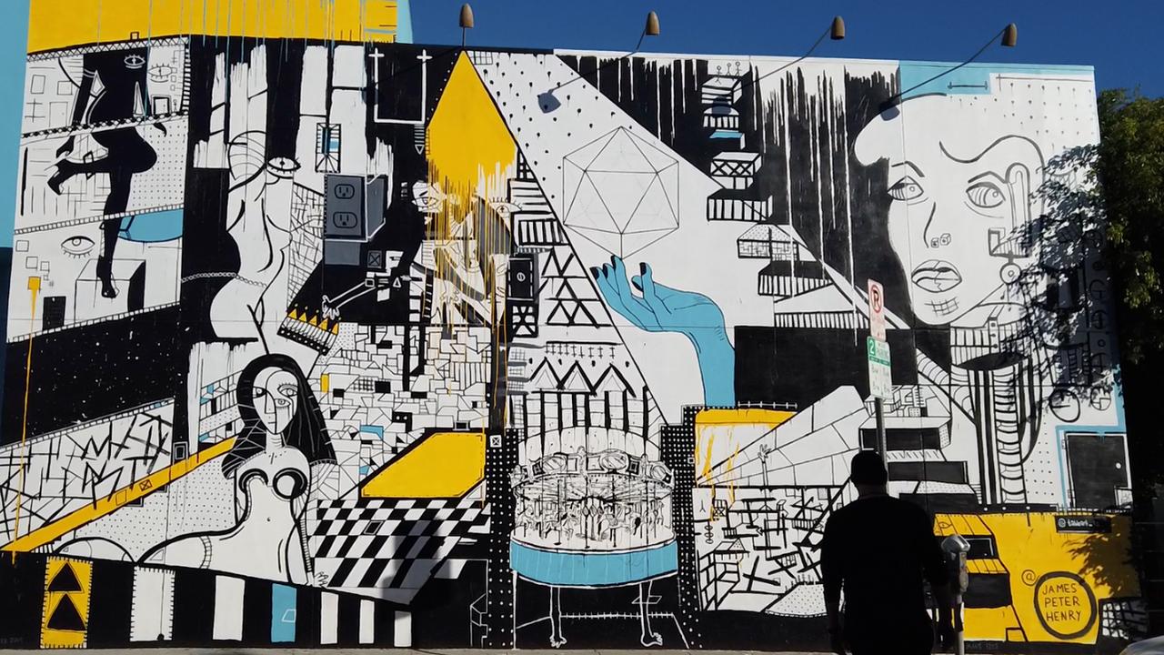 Melrose Mural