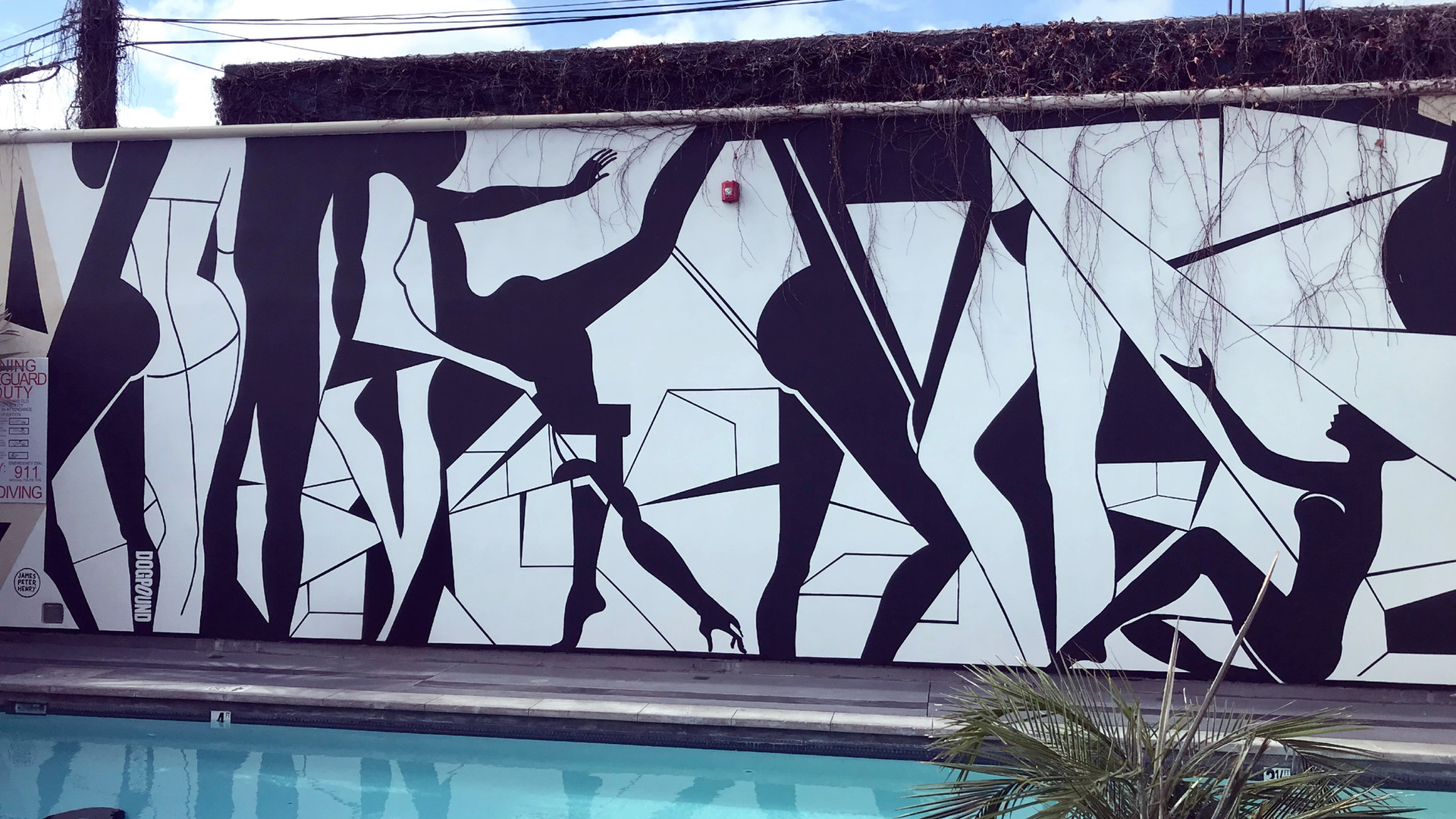 La Peer Hotel Mural - West Hollywood
