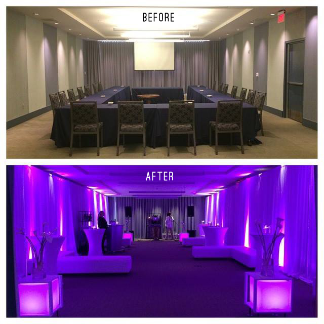 Event Space Transition