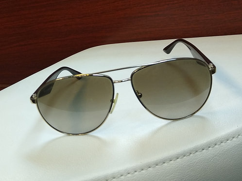 Prada Brown Aviator Sunglasses