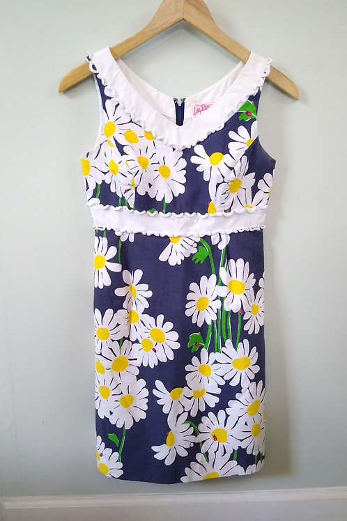 Lilly Pulitzer Vintage Multicolored Dress, Size 0