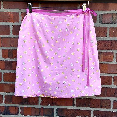 Lilly Pulitzer Pink Wrap Skirt, Size 6