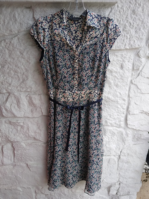 Kofi Collection Navy Dress, Size S