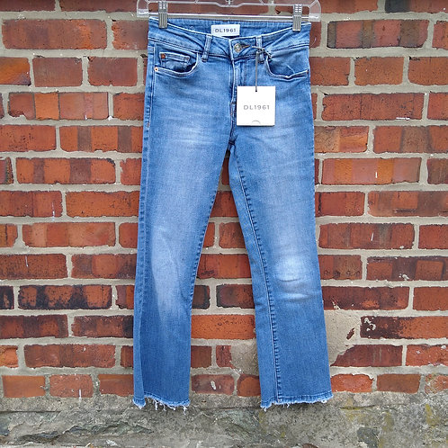 DL1961 Blue Jeans, new with tags, Size 0/2