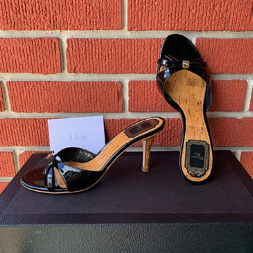 Christian Dior Black Shoes, Size 7.5