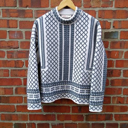 Tory Burch Grey Sweater, Size XS