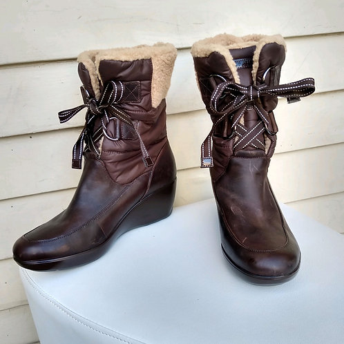 Sperry Brown Boots, Size 9