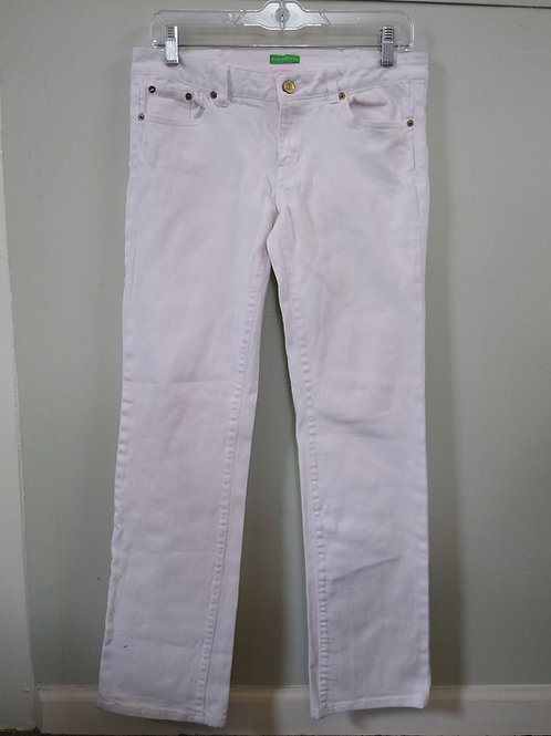 Lilly Pulitzer White Pants, Size 4
