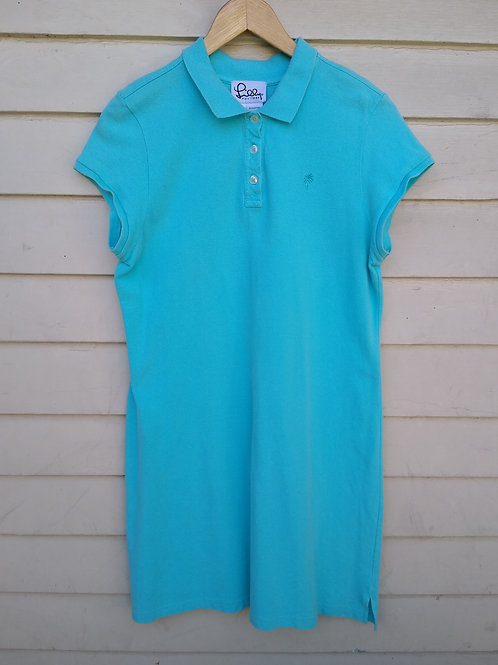 Lilly Pulitzer Turquoise Dress, Size L