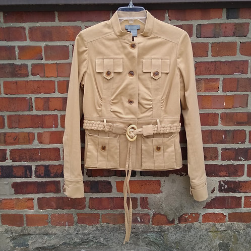 Eccoci Tan Jacket, Size 4