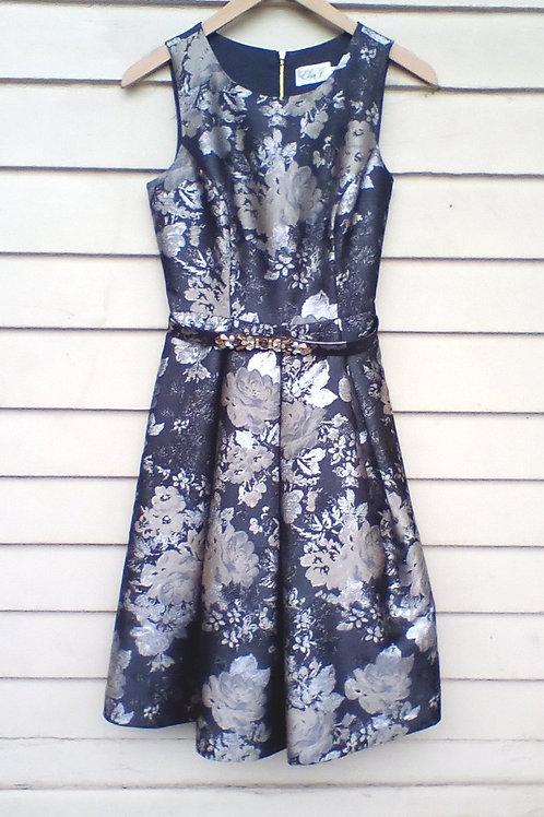 Eliza B. Grey Dress