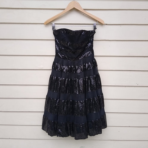 Betsey Johnson Evening Black Dress, new with tags, Size 0