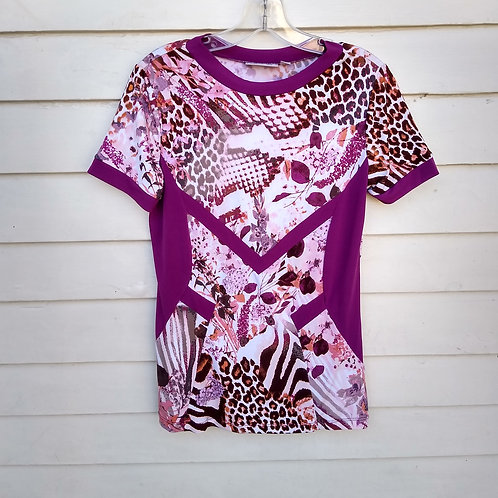 Simonton Says Purple Top, Size XS