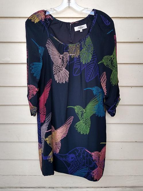 Tibi Black Silk Dress, Size 6