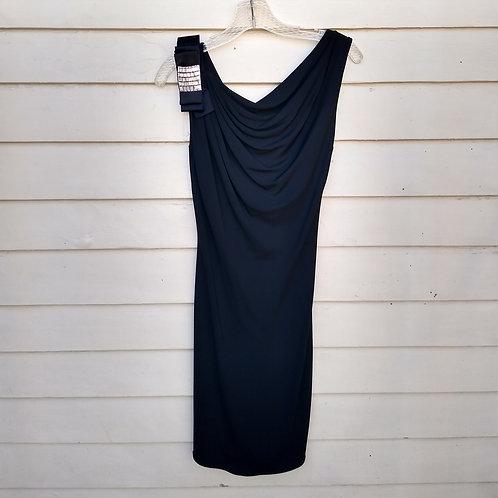 Blumarine Black Dress, Made in Italy, Size 0