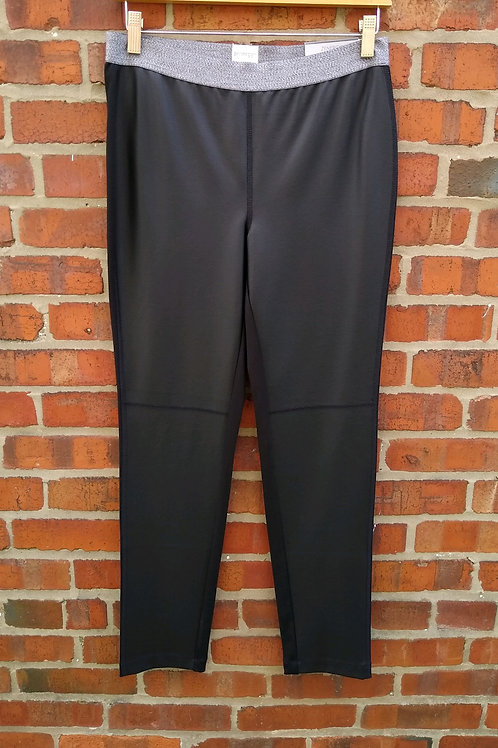 Chico's Zenergy Black Leggings, new with tags, Size M
