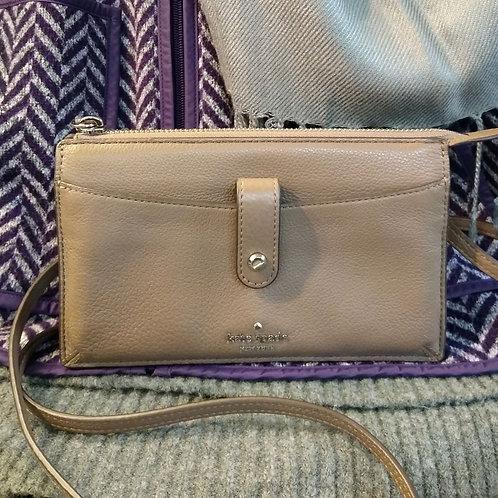 Kate Spade Taupe Small Crossbody Bag