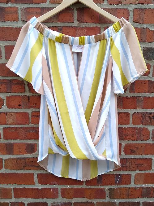Blush Boutiques Multicolored Top, Size S