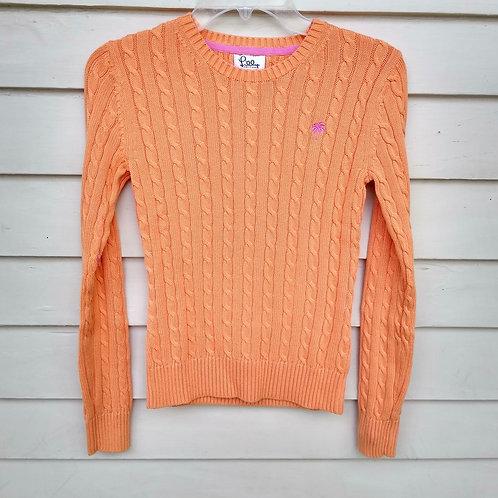 Lilly Pulitzer Orange Sweater, Size XS
