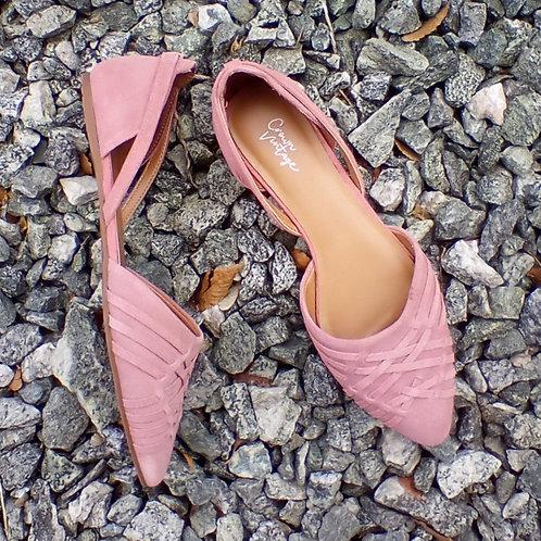 Crown Vintage Pink Suede Shoes