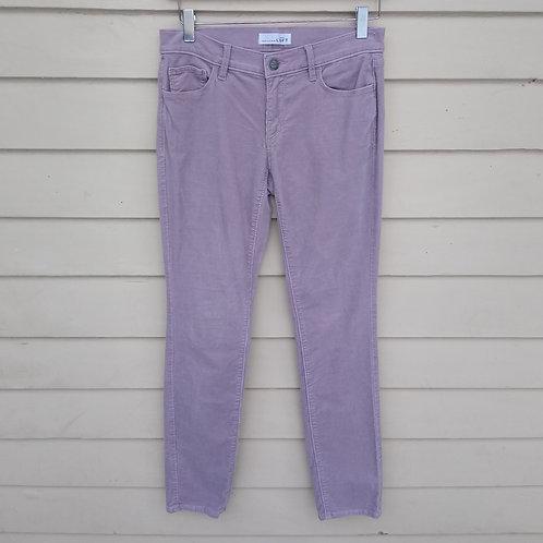 Loft Lavender Corduroy Pants, Size 2