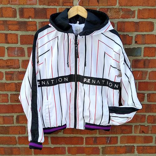 PE Nation White Jacket, Size L