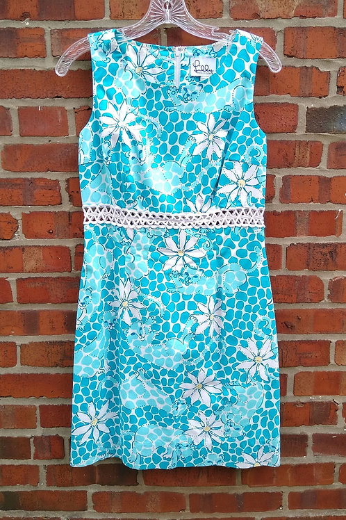 Lilly Pulitzer Turquoise Dress, Size S