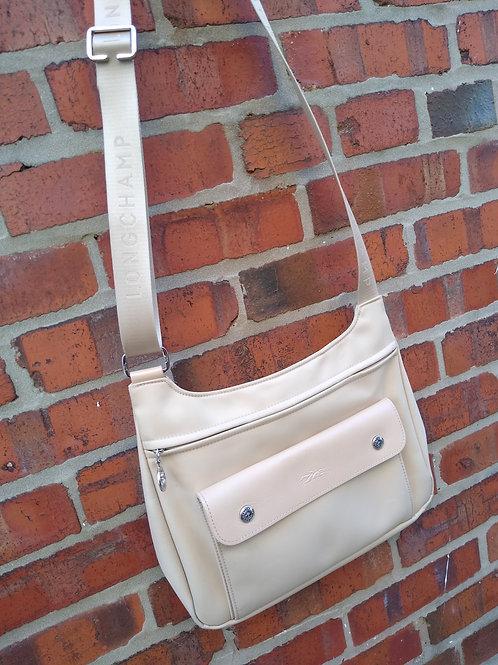 Longchamp Tan Crossbody Bag