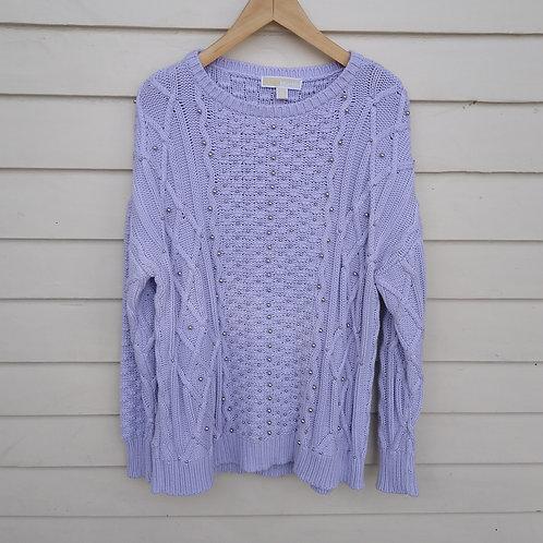 Michael Kors Lavender Sweater, Size 1X