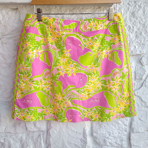Lilly Pulitzer Multicolored Skort, Size 6