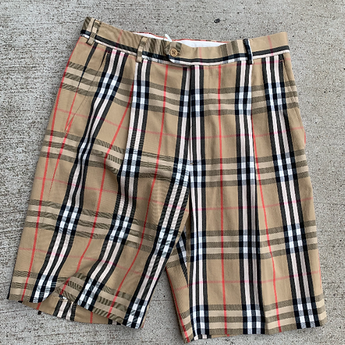 Burberry Tan Shorts, Size 8/10