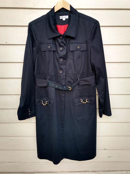 Bushwacker Black Coat, Size XL