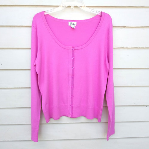 Lilly Pulitzer Pink Sweater, Size XL
