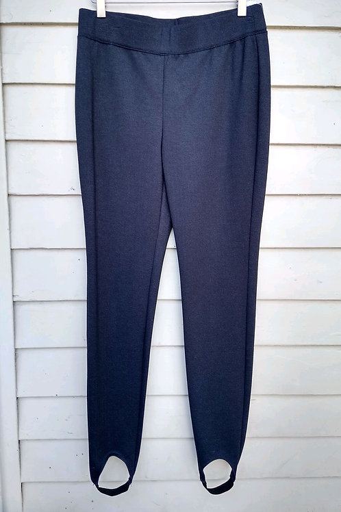 Chico's Charcoal Pants, Size S/M