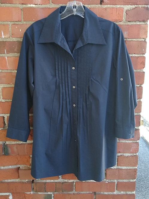 Modify Navy Shirt, Size 0/2