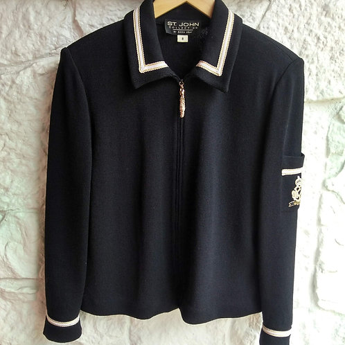 St. John Black Jacket