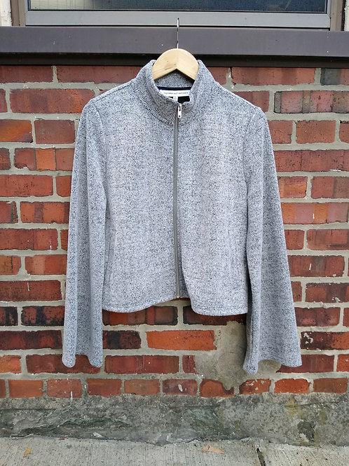Cupcakes and Cashmere Grey Jacket, new with tags, Size L