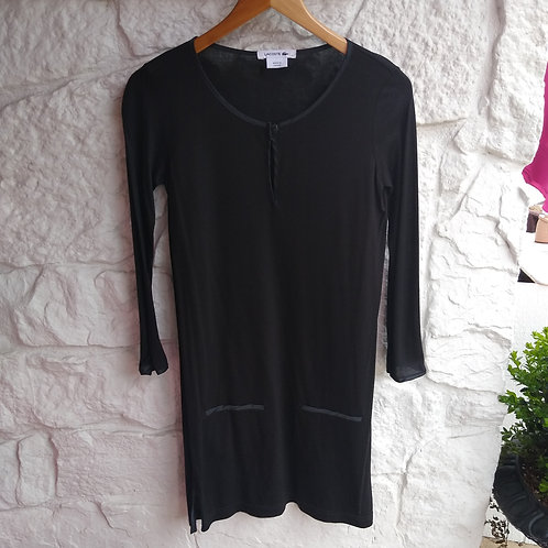 Lacoste Black Dress, Size 0/2