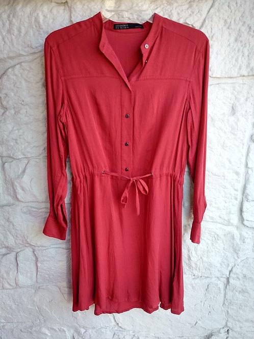 Allsaints Orange Dress, Size 2