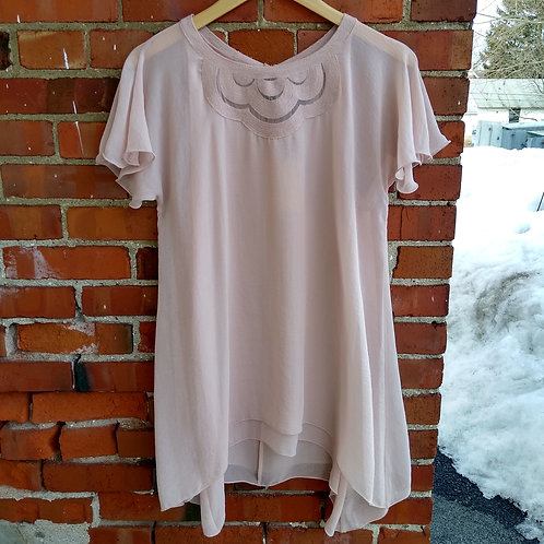 Sophia Max Pink Top, new with tags, Size S