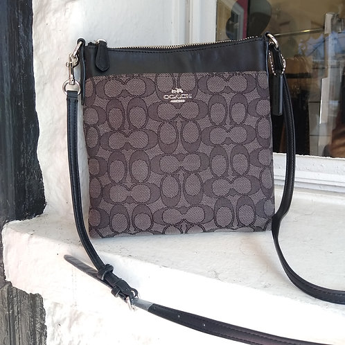 Coach Grey Crossbody Bag, new with tags