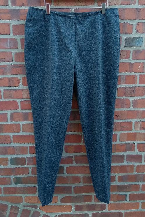 Neiman Marcus Grey Pants, Size L/XL