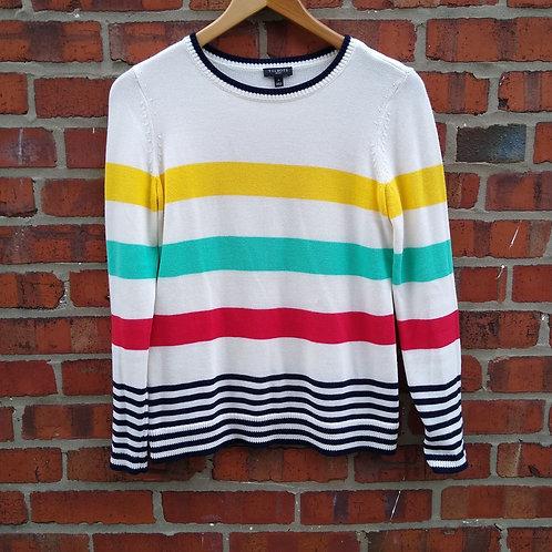 Talbots Multicolored Sweater, Size P