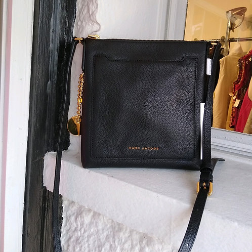 Marc Jacobs Black Crossbody Bag, new with tags