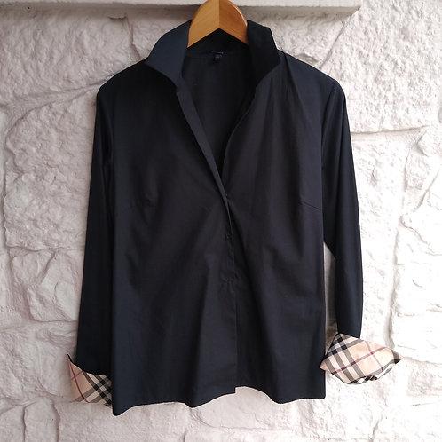 Burberry Black Shirt, Size 8