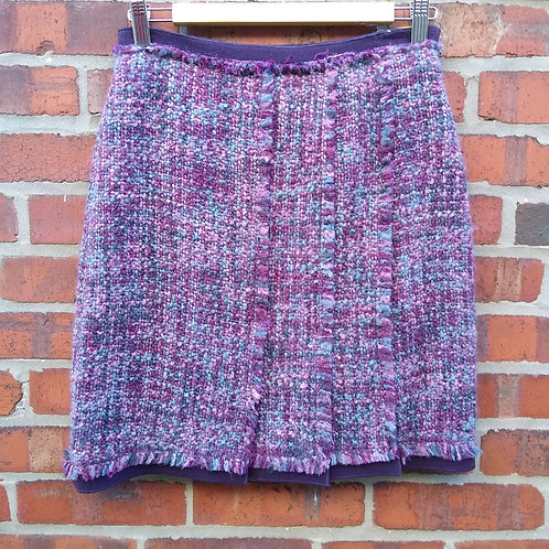 Etcetera Wine Skirt, Size 0
